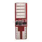 MZ T10 5W Canbus Red 10-LED Car Clearance Lamp / License Plate Light