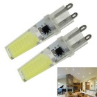 G9 7W COB LED Bulb Lamp Cool White Light 1000lm (2PCS)