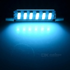 Double Festoon 41mm 2W 6-7020 SMD LED Ice Blue Light Bulb (DC 12V)