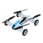 "SYMA X9 1.9"" LCD 2.4GHz 4-CH Fly & Drive Air-Ground Remote Control Quadcopter / Flying Car - White"