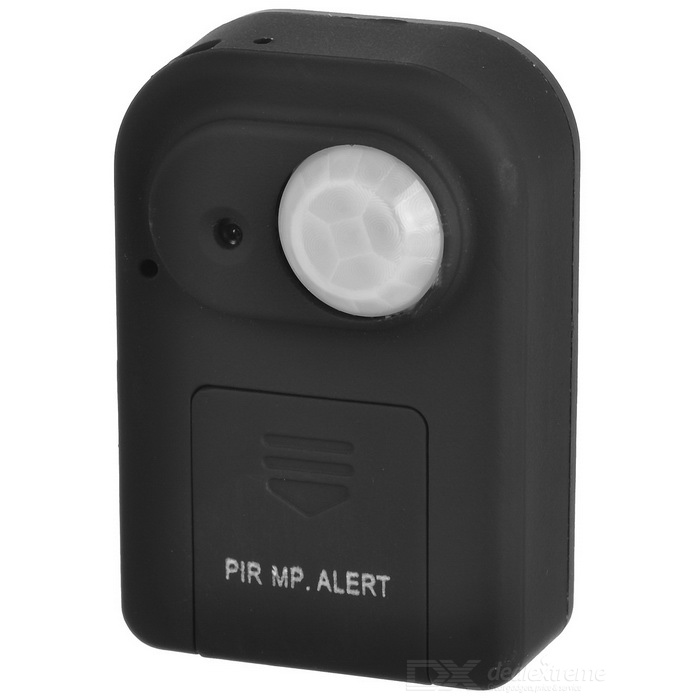 A99 Infrared Body Sensor Positioning GSM Telephone Alarm - Black