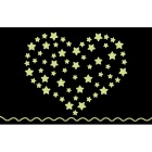 Y0033 Stars Style Fluorescent Luminous Wall Sticker
