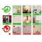 Small Tower Style Wall Fluorescence Luminous Sticker - Green