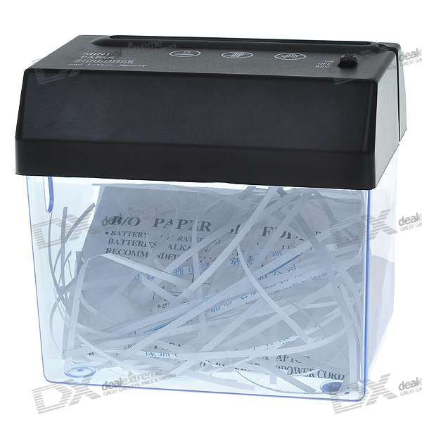 USB/4*AA Powered Mini Paper Shredder with Letter Opener mje15032g mje15033g to 220