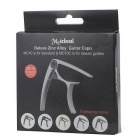 Meideal MCapo10 Acoustic / Electric Guitar Quick Change Trigger Key Capo Clamp - Silver