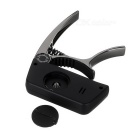 "Meideal TCapo20C 1.5"" LCD Capo & Tuner for Classical Guitar - Black"