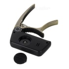 "Meideal TCapo20C 1.5"" LCD Capo & Tuner for Classical Guitar - Bronze"