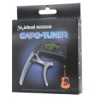 "Meideal TCapo20C 1.5"" LCD Capo & Tuner for Classical Guitar - Golden"