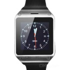 "DIWEINUO Zori D5 GSM Inteligente Watch Phone w / 1,54 ""MIPI HD, Quad-band, Bluetooth, FM - Preto + Silver"