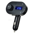 "1.2"" Bluetooth V3.0 MP3 Player & FM Transmitter Hands-Free Car Kit w/ USB 2.0 Charger / TF Card Slot"