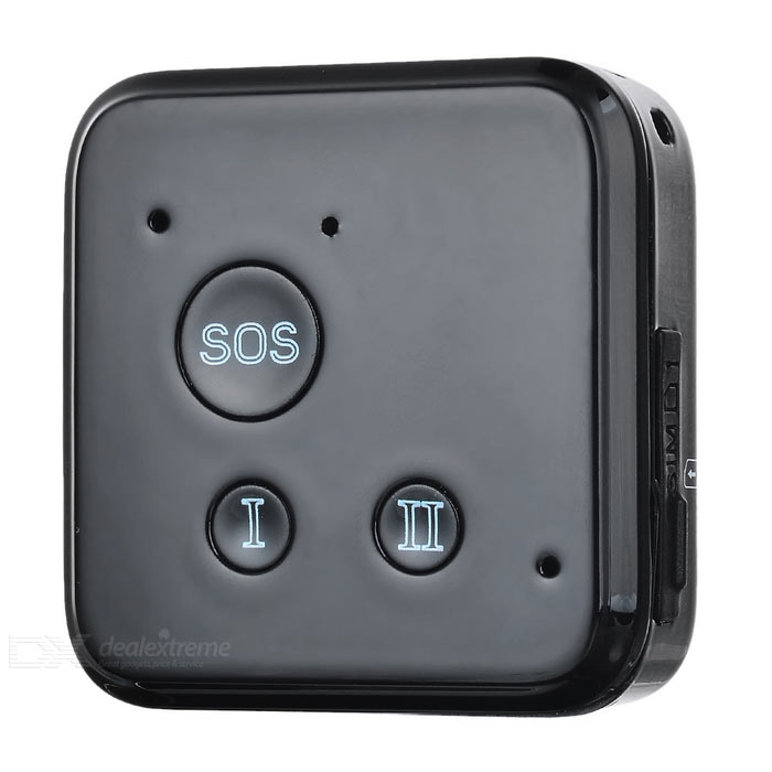 GPS Positioner Support SOS Real-time Tracking for Elderly Kids