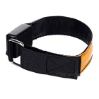 CTSmart Orange Light 3-Mode LED Safety Warning Strap Arm Band - Orange