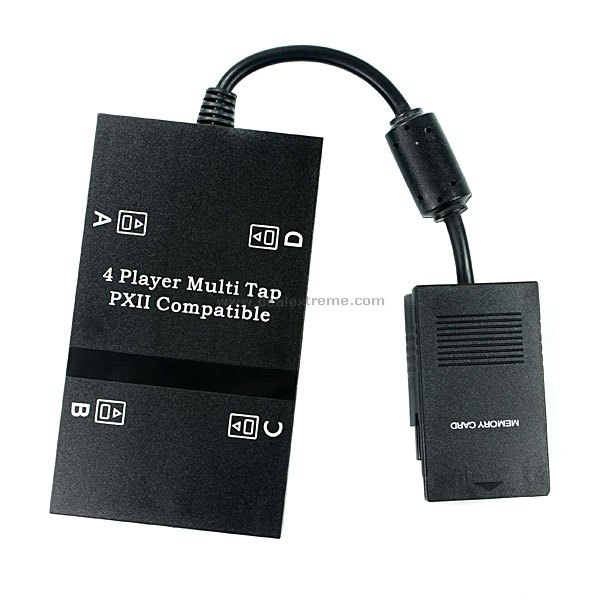 4 Players Multi-Tap Connector for PS2