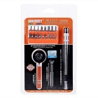 JAKEMY JM-6119 Screwdriver Bits + 1/4 Ratchet Handle Repair Tool Kit