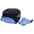 Wind Tour Outdoor Cycling Hiking Mountaineering Windproof Warm Snow Hat - Dark Blue