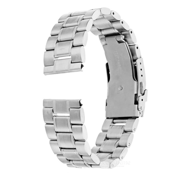 Stainless Steel Watch Band for Motorola MOTO 360 2 46mm - SilverWearable Device Accessories<br>Form  ColorSilverQuantity1 DX.PCM.Model.AttributeModel.UnitMaterialStainless steelPacking List1 x Watchband2 x Pins<br>