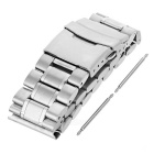 Stainless Steel Watch Band for Motorola MOTO 360 2 46mm - Silver