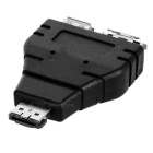 CY SA-016 USB 2.0 to eSATA & USB Splitter Adapter Converter - Black