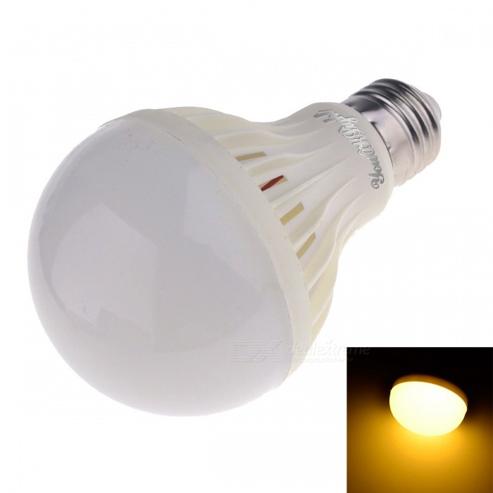 youoklight E27 9W 15-SMD 5630 700lm 3000K warm wit licht LED-lamp