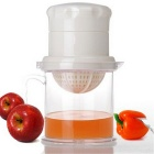 A911 Universal Manual de Fruit Vegetable Juice Extractor Multi-purpose Mini Juicer - Branco