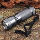 7-LED White Light LED Flashlight with Strap - Random Color (3*AAA)
