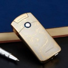 PRIMO USB Powered Wind-proof Electric Arc Cigarette Lighter - Golden