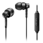 Philips SHE9105BK Headphones with Mic, Black