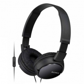 Sony MDRZX110AP ZX Series Headset with Mic-Black