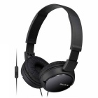 Sony MDRZX110AP ZX Series Extra-Bass Smartphone Headset with Mic - Black