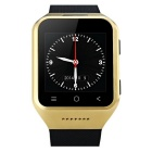"S8 1.54"" 3G Android 4.4 OS Smart Watch Phone w/ Defined Facebook, Twitter, Vechat, GPS, Camera -Gold"