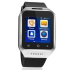 "S8 1.54"" 3G Android 4.4 Smart Watch Phone w/ GPS, Camera - Silver"