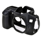 Durable Silicone Protective Case Cover Housing Cage for Canon 60D DSLR Cameras - Black