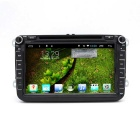 "New 8"" HD Android Car DVD Player With 1080P / R16 Quad-core/ 1GB DDR/ 16GB Flash / GPS Navi for VW"