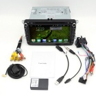 "8"" android bil DVD-spiller m / 1 GB DDR / 16GB flash / GPS for VW - svart"