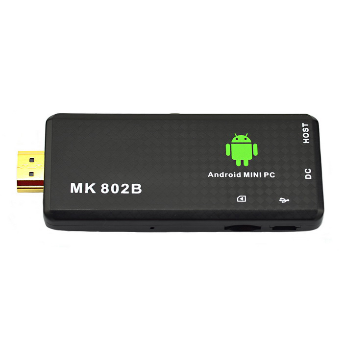 Jtron MK 802B Android 4.2 Mini PC Google TV Player w / BT - Negro