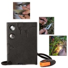 18 in1 Multifunctional Pocket Hunting Knife Credit Card Knives - Black