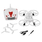RC quadcopter zumbido aviones de juguete w / 6-Axis gyro & lámpara LED - blanco