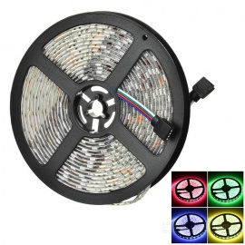 5050 SMD 300-LED Waterproof RGB Light Strip + APP Bluetooth RGB Controller for Android, IOS (DC 12V)