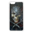 3D One-Eyed Skull Pattern Back Case for IPHONE 6 PLUS / 6S PLUS -Black