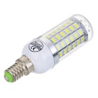 E14 3.7W 69-5730 SMD LED 450lm 6500K Cold White Light Corn Light