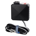 Motorcycle Refitting Dual USB 2.1A 12V Waterproof Car Power Charger - Black
