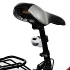 Waterproof High Power 4-Mode 1 White LED + 2 Red LEDs Bike Taillight / Headlamp (3 x AAA)
