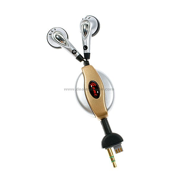 Retractable Gaming Earphone for PSP