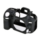 Durable Silicone Protective Case Cover Housing Case for Nikon D600 DSLR Cameras - Black