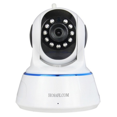 HOSAFE 720P 1MP Wireless Security IP Camera - White (US Plug)