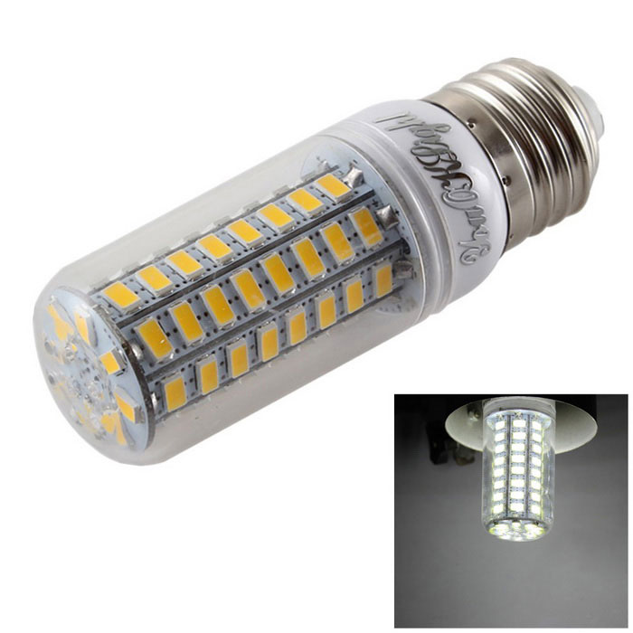 YouOKLight E27 5W 6000K LED Corn Bulb Cold White Light 1600lm 72-SMD