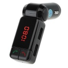 Dual USB Auto Car Kit Wireless Bluetooth Hands Free Calling MP3 Player FM Transmitter Modulator