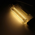 360° R7S 10W 228-3014 SMD LED Warm White Light Silicone Halogen Core Energy Saving Lamp(AC 220~240V)