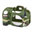 Durable Silicone Protective Case Cover Housing Case for Nikon D600 DSLR Cameras - Camouflage