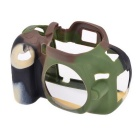 Durable Silicone Protective Case Cover Housing Case for Nikon D5100 DSLR Cameras - Camouflage